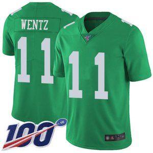 Eagles Carson Wentz 100th Season Jersey 4